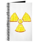 Vintage Radioactive symbol 2 Journal