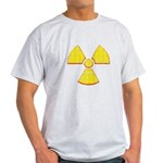 Vintage Radioactive symbol 2 Light T-Shirt