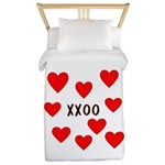 Hugs and Kisses Twin Duvet