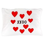 Hugs and Kisses Pillow Case