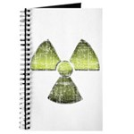 Vintage Radioactive Symbol 3 Journal