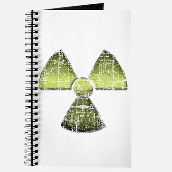 Vintage Radioactive Symbol 3 Journal