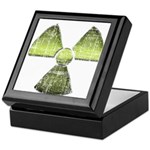 Vintage Radioactive Symbol 3 Keepsake Box