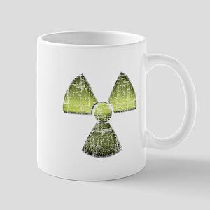 Vintage Radioactive Symbol 3 Mug