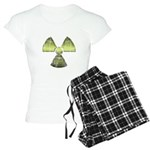 Vintage Radioactive Symbol 3 Women's Light Pajamas