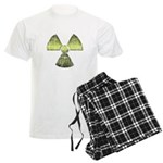 Vintage Radioactive Symbol 3 Men's Light Pajamas
