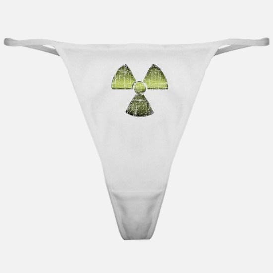 Vintage Radioactive Symbol 3 Classic Thong