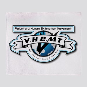 VHEMT Throw Blanket