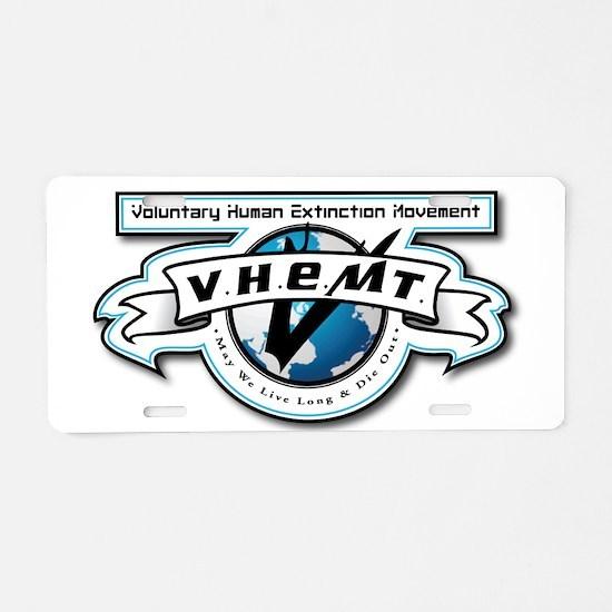 VHEMT Aluminum License Plate