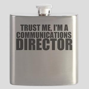 Trust Me, I'm A Communications Director Flask