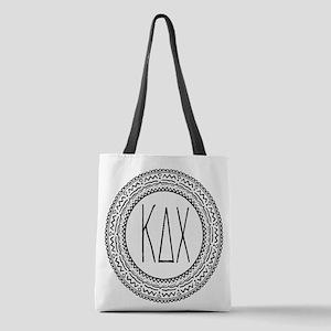 Kappa Delta Chi Sorority Medall Polyester Tote Bag