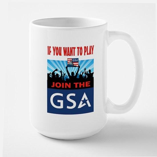 DEMOCRATS AT WORK Large Mug