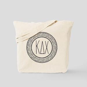 Kappa Delta Chi Sorority Medallion Tote Bag