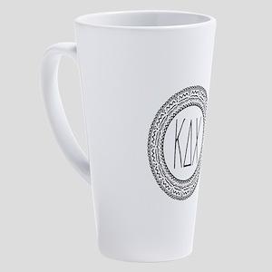 Kappa Delta Chi Sorority Medallion 17 oz Latte Mug