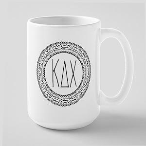 Kappa Delta Chi Sorority 15 oz Ceramic Large Mug