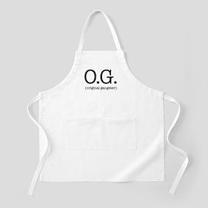O.G. (original gangster) Apron