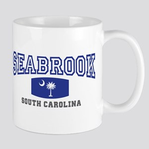 Seabrook South Carolina, SC, Palmetto State Flag M