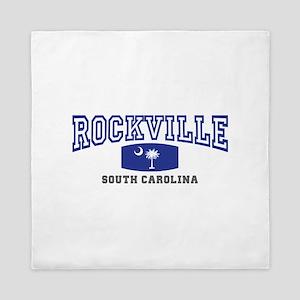 Rockville South Carolina, SC, Palmett Queen Duvet