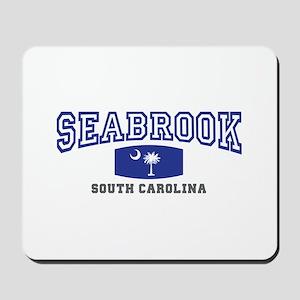 Seabrook South Carolina, SC, Palmetto State Flag M