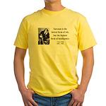 Oscar Wilde 29 Yellow T-Shirt