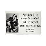 Oscar Wilde 29 Rectangle Magnet (100 pack)