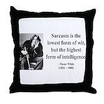 Oscar Wilde 29 Throw Pillow