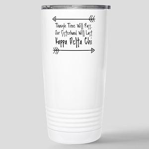 Kappa Delta Chi S 16 oz Stainless Steel Travel Mug