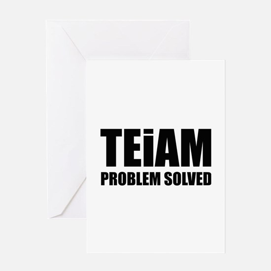 TEiAM Problem Solved Greeting Card