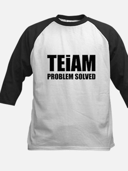 TEiAM Problem Solved Kids Baseball Jersey