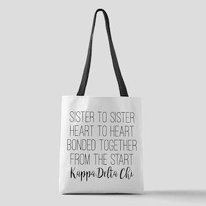 Kappa Delta Chi Sorority Sister Polyester Tote Bag