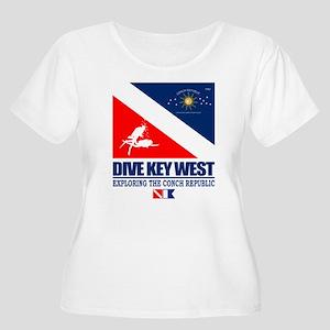 Dive Key West Plus Size T-Shirt