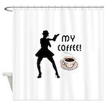 My Coffee Shower Curtain