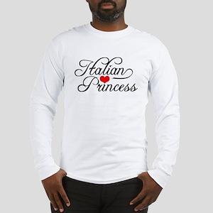 Italian Princess Long Sleeve T-Shirt