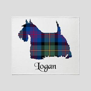 Terrier - Logan Throw Blanket