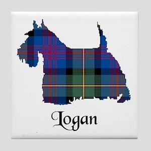Terrier - Logan Tile Coaster