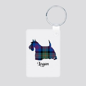 Terrier - Logan Aluminum Photo Keychain