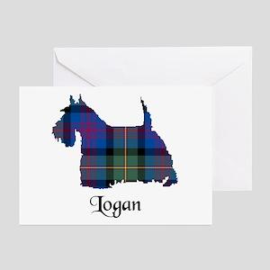 Terrier - Logan Greeting Cards (Pk of 20)