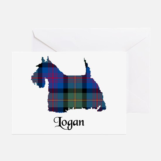 Terrier - Logan Greeting Cards (Pk of 20)