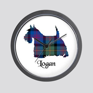 Terrier - Logan Wall Clock