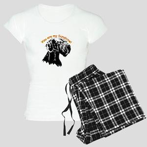 giant schnauzer Women's Light Pajamas
