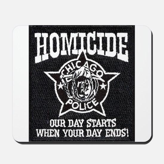 Chicago PD Homicide Mousepad