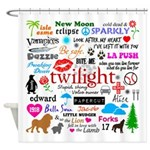 Twilight Memories Shower Curtain