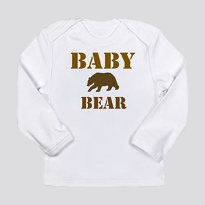 Papa Mama Baby Bear Long Sleeve Infant T-Shirt