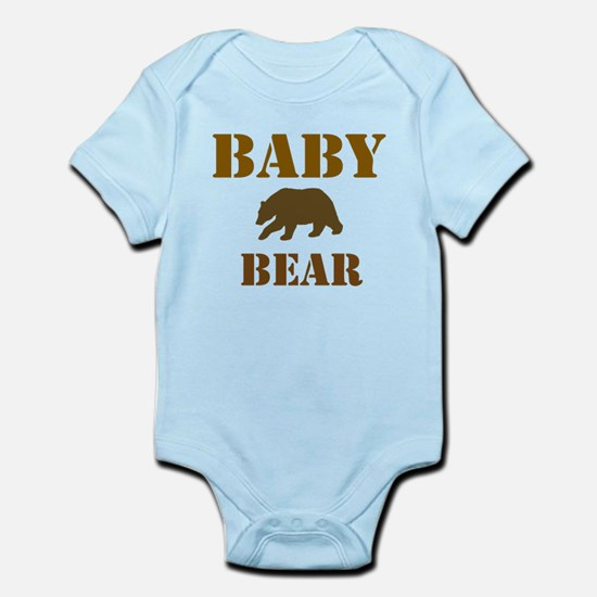 Papa Mama Baby Bear Infant Bodysuit