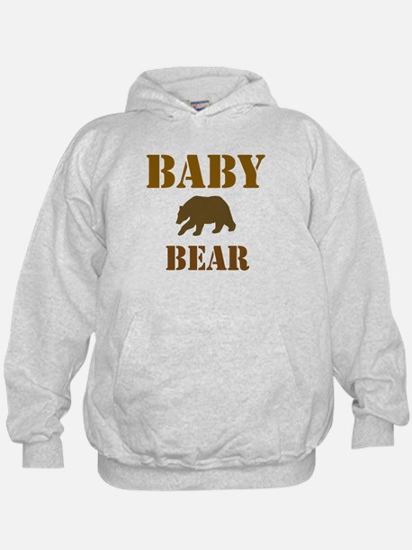Papa Mama Baby Bear Hoodie