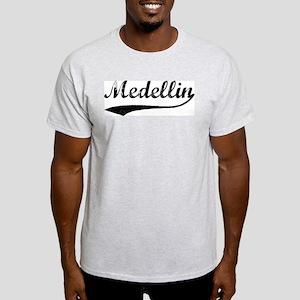 Vintage Medellin Ash Grey T-Shirt