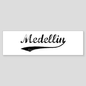 Vintage Medellin Bumper Sticker