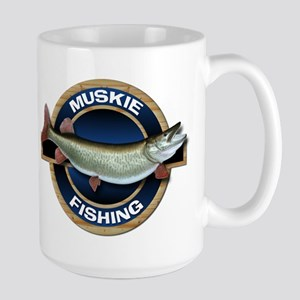 Large Muskie Fishing Mug