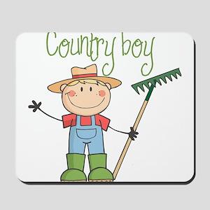 Country Boy Farmer Mousepad
