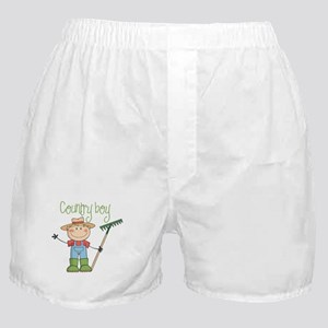 Country Boy Farmer Boxer Shorts
